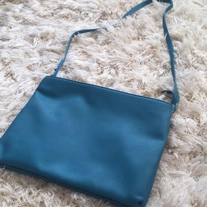 Urban outfitter silence+noise turquoise bag